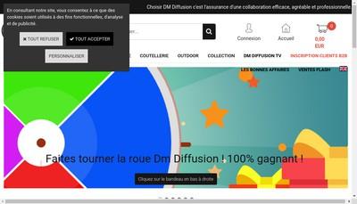 Site internet de Dm Diffusion