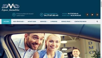 Site internet de Espace Automobiles DMO