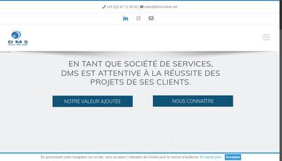 Site internet de Document Media Systeme