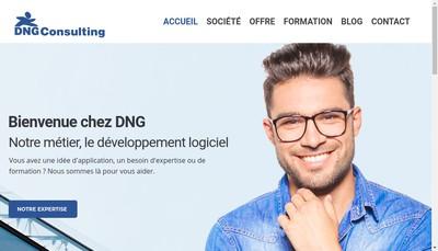 Site internet de Dng Consulting