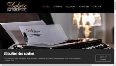 Site internet de Dobree Patrimoine