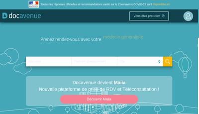Site internet de Maiia