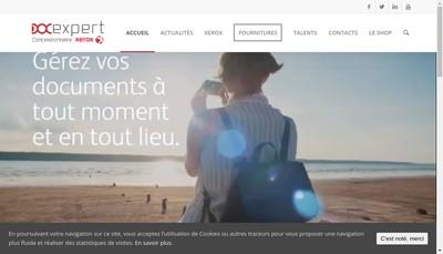 Site internet de Docexpert