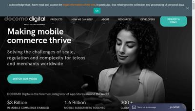Site internet de Mobiles Communities-Freechat-Freeclub-Communautes Mobiles-Cccc-Buongio