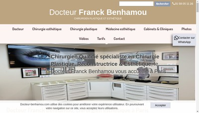 Site internet de Franck Benhamou