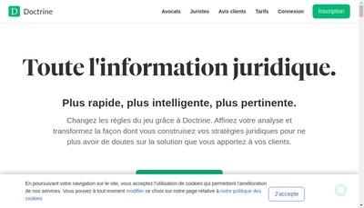 Site internet de Doctrine