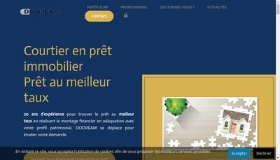 Site internet de Dodream