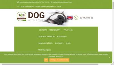 Site internet de Dog Hotel Resort