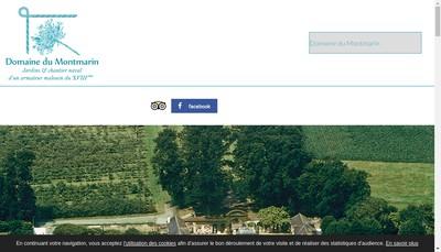 Site internet de SARL du Montmarin