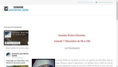Site internet de Jean-Michel Gerin SARL