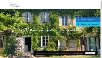 Site internet de SASU du Domaine de la Parpaille