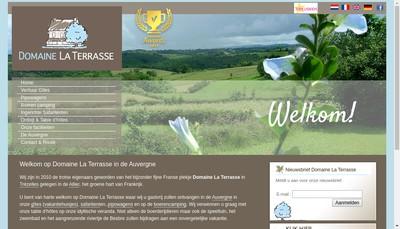 Site internet de SAS Domaine la Terrasse