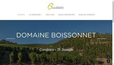 Site internet de SARL Frederic Boissonnet
