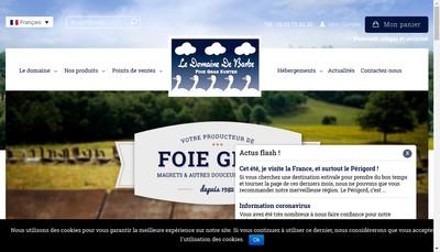 Site internet de La Badefolaise