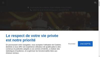 Site internet de Chateau de Bel Air