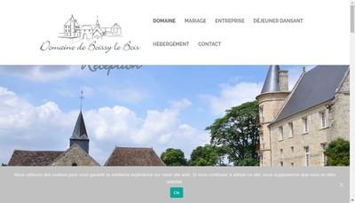Site internet de SARL Domaine de Boissy le Bois