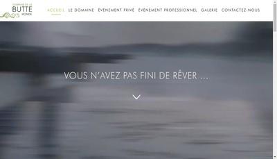 Site internet de Domaine de la Butte Ronde