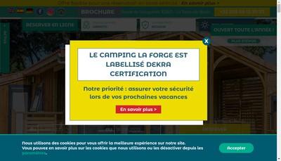 Site internet de Domaine de la Forge