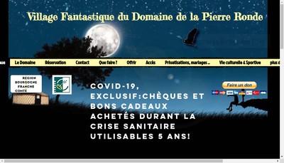 Site internet de Domaine de la Pierre Ronde