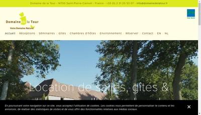 Site internet de SARL Domaine de la Tour