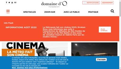 Site internet de Domaine d'O