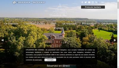 Site internet de Domaine du Buc