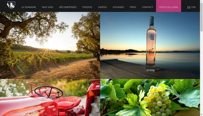 Site internet de Domaine de la Rouillere