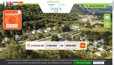 Site internet de Camping de la Tour