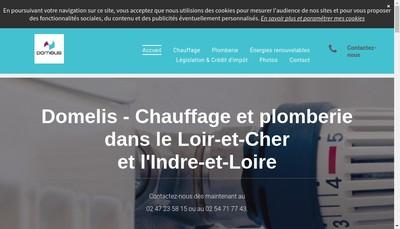 Site internet de Domelis