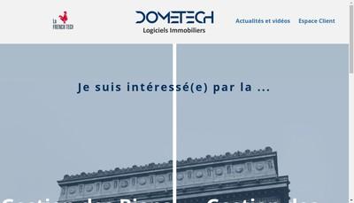 Site internet de Dometech