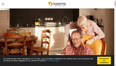 Site internet de Domitys Sud-Est