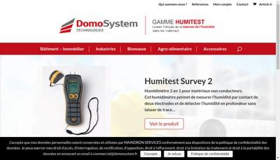 Site internet de Domosystem