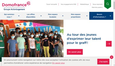 Site internet de Domo France
