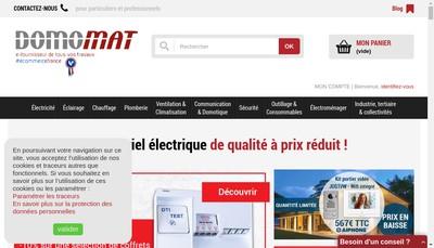 Site internet de Domomat