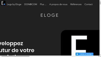 Site internet de Eloge