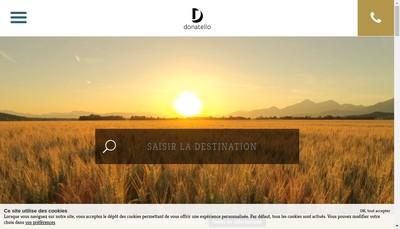 Site internet de Le Donatello