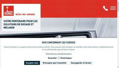 Site internet de Dopag