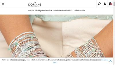 Site internet de Doriane
