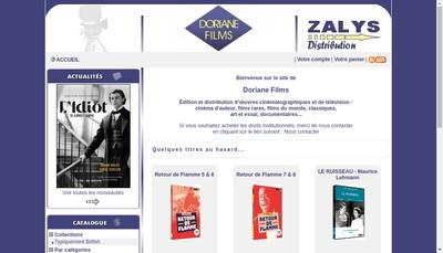 Site internet de Doriane Films