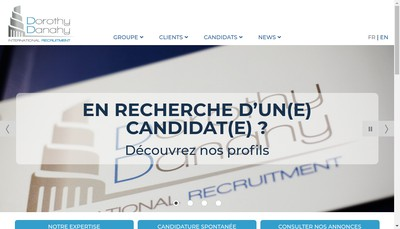 Site internet de Dorothy Danahy