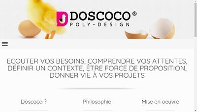 Site internet de Doscoco