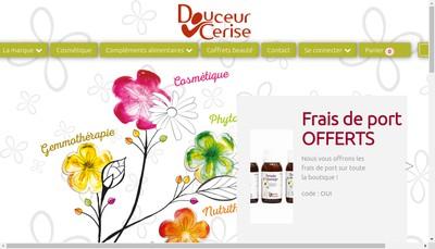 Site internet de Plante & Beaute Bio