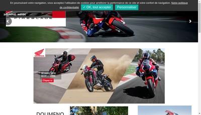 Site internet de Etablissements Doumenq Motos