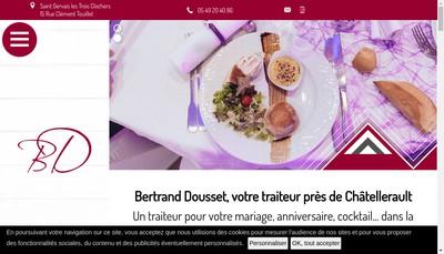 Site internet de SARL Dousset Bertrand