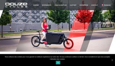 Site internet de Douze Cycles