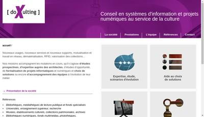 Site internet de Doxulting