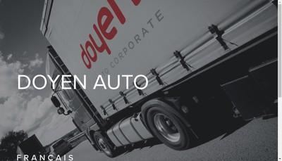 Site internet de Doyen Auto France