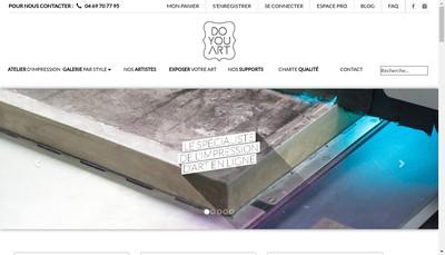 Site internet de Doyouart