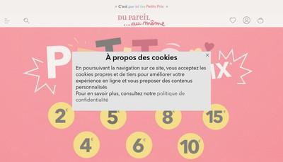 Site internet de L'Affaire Bebe