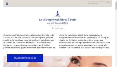 Site internet de SELARL Docteur Laurent Halimi